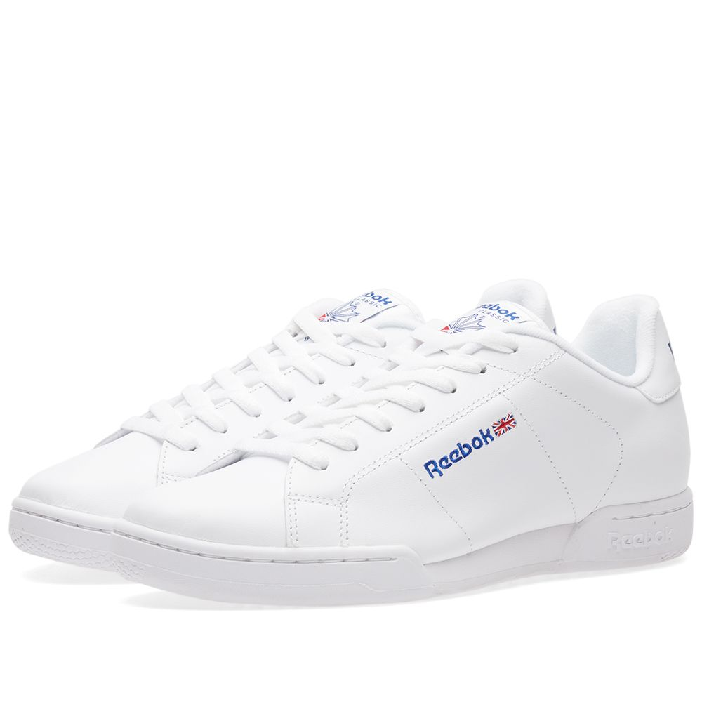 d4e5858b46d6 Reebok Classic NPC II Shoes Men u0027s SNEAKERS Trainers Black 6836 WOW ... reebok  npc ii