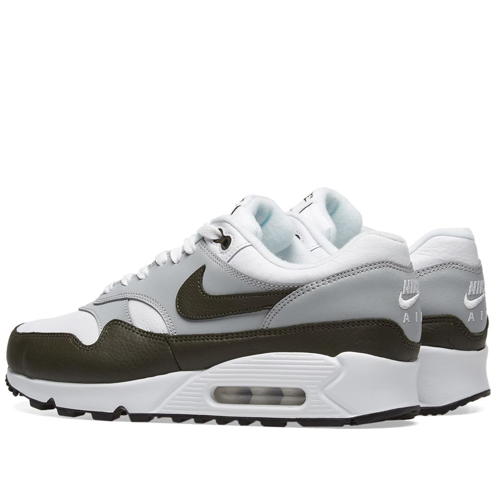 58104b62cc42 Nike Air Max 90 1 White