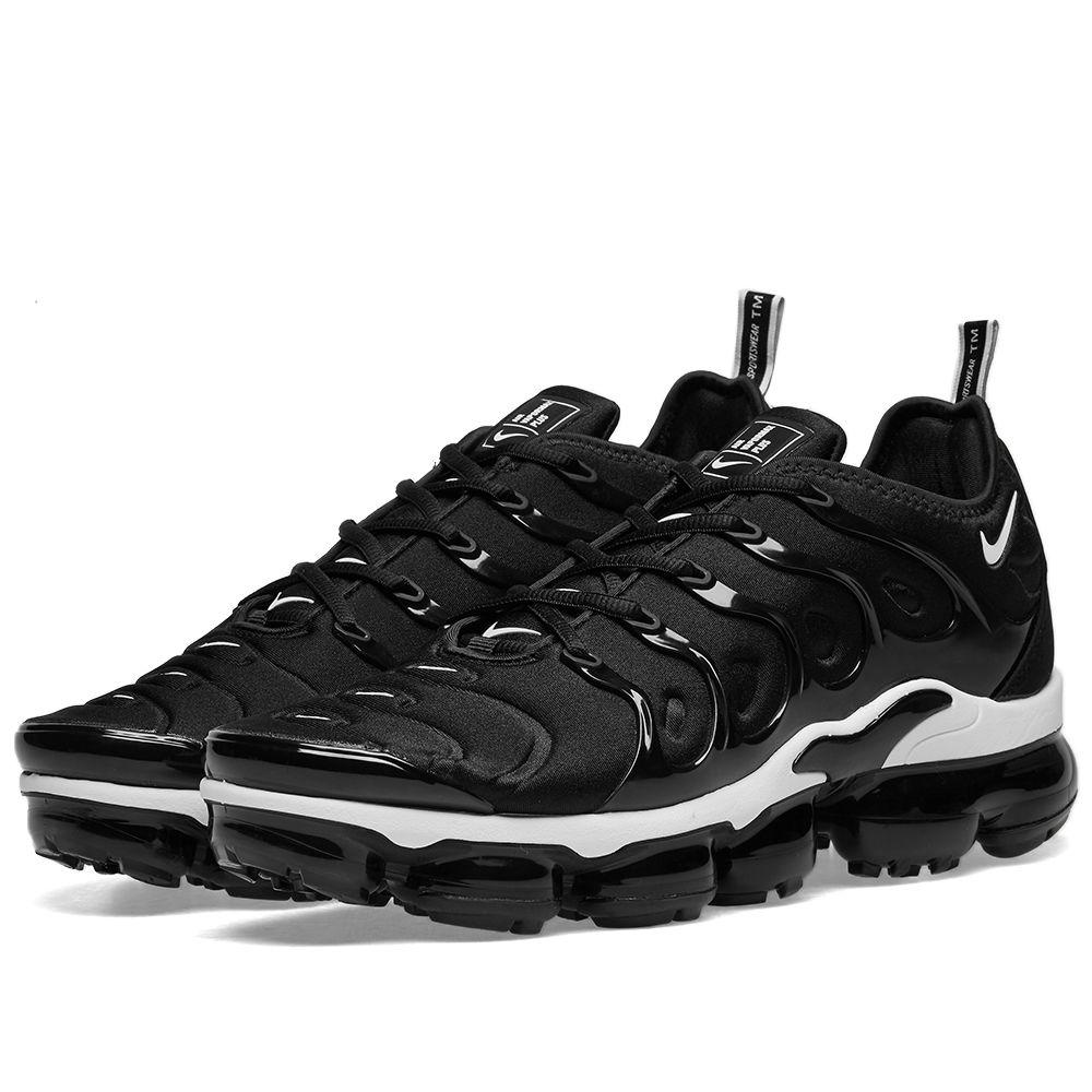 huge discount a4026 c90ca Nike Air VaporMax Plus Black   White   END.