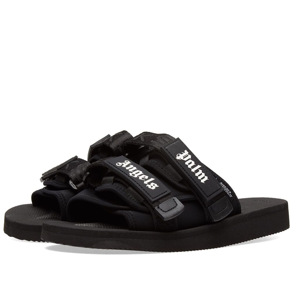 c053d76f04f8 Palm Angels x Suicoke Slide Black