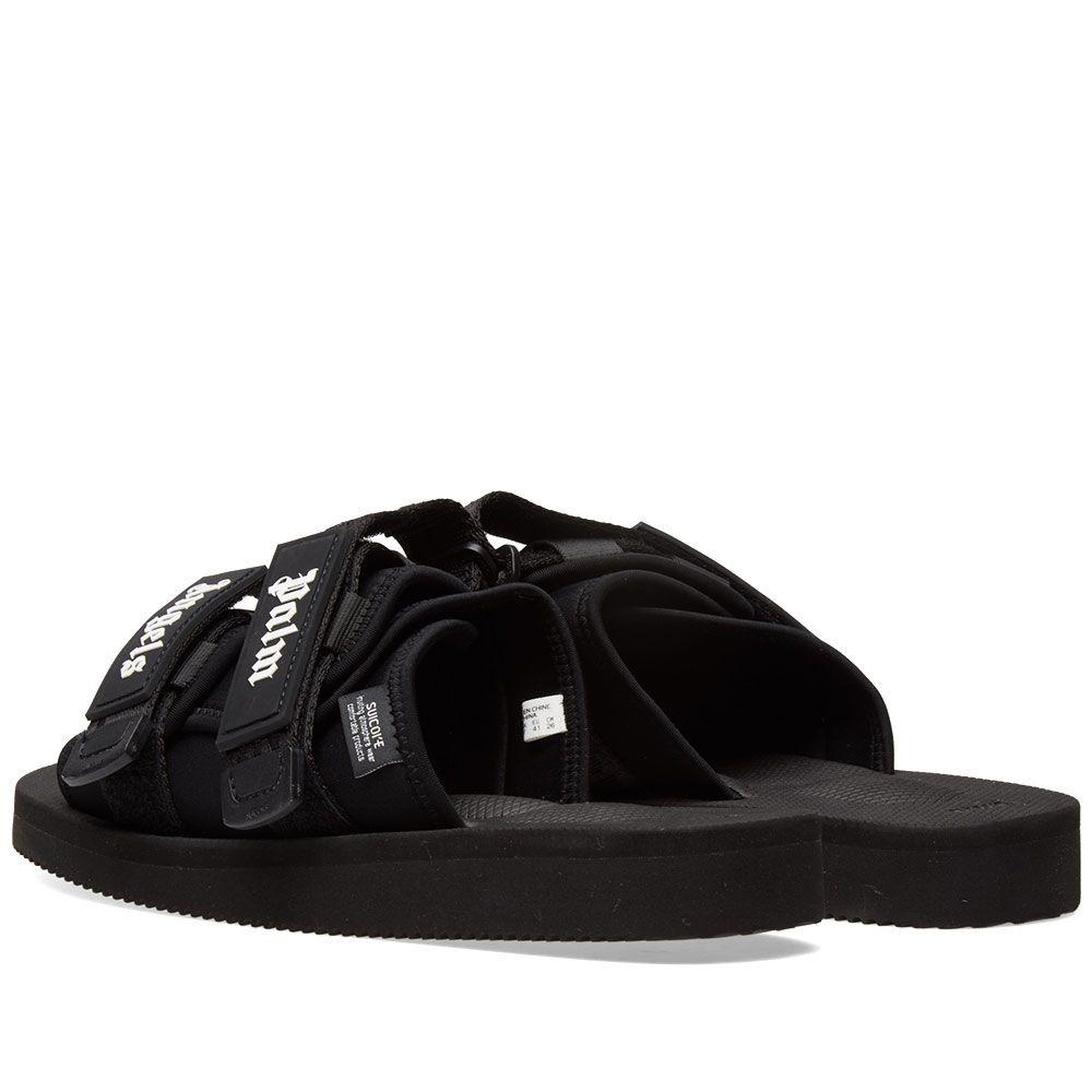 5448cfcbfea9 Palm Angels x Suicoke Slide Black