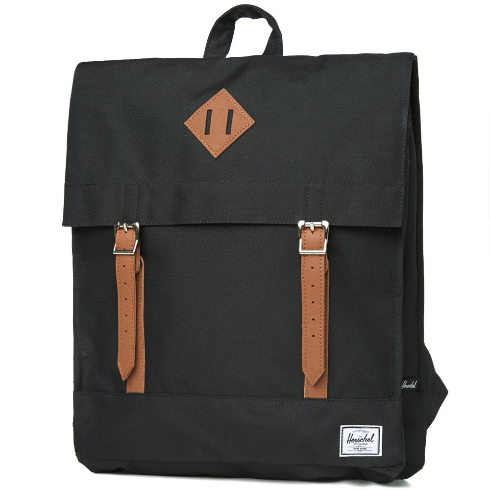 da7ce518f31 Herschel Supply Co. Survey Backpack Black   Tan