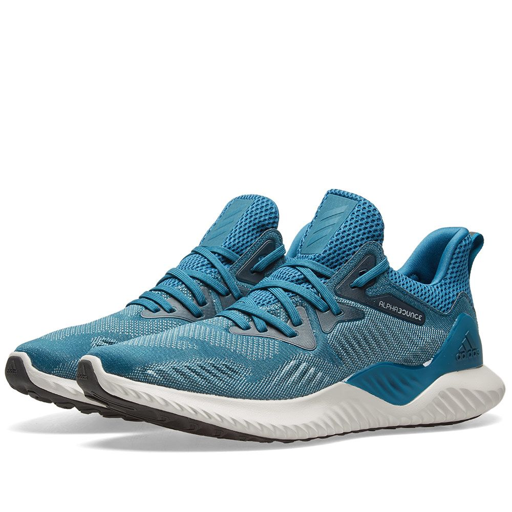 3794168b0c539 Adidas Alphabounce Beyond Real Teal   Ash Grey