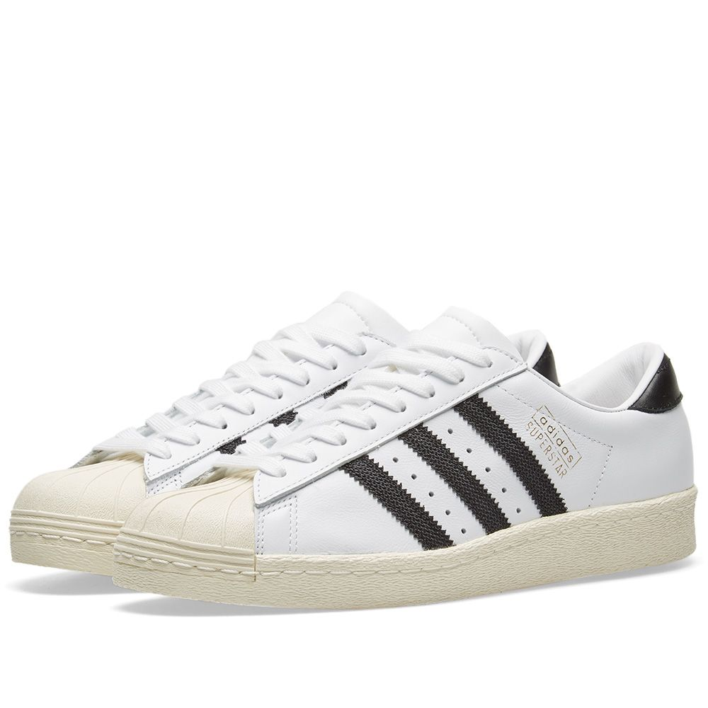 various colors f81a8 dd8a2 Adidas Superstar OG White   Black   END.