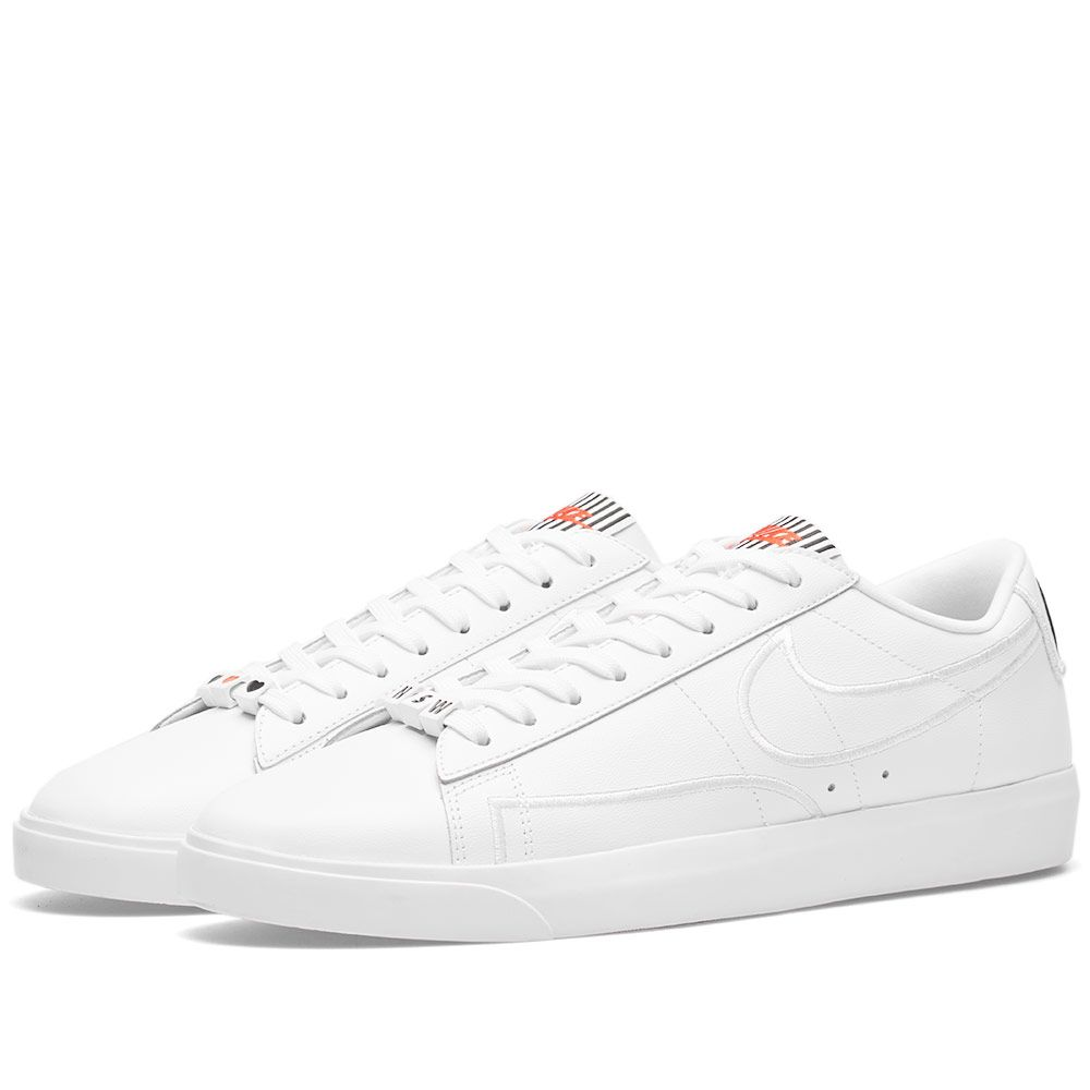 buy online ed810 ade8d Nike Blazer Low SE LX W White, Black  Speed Red  END.