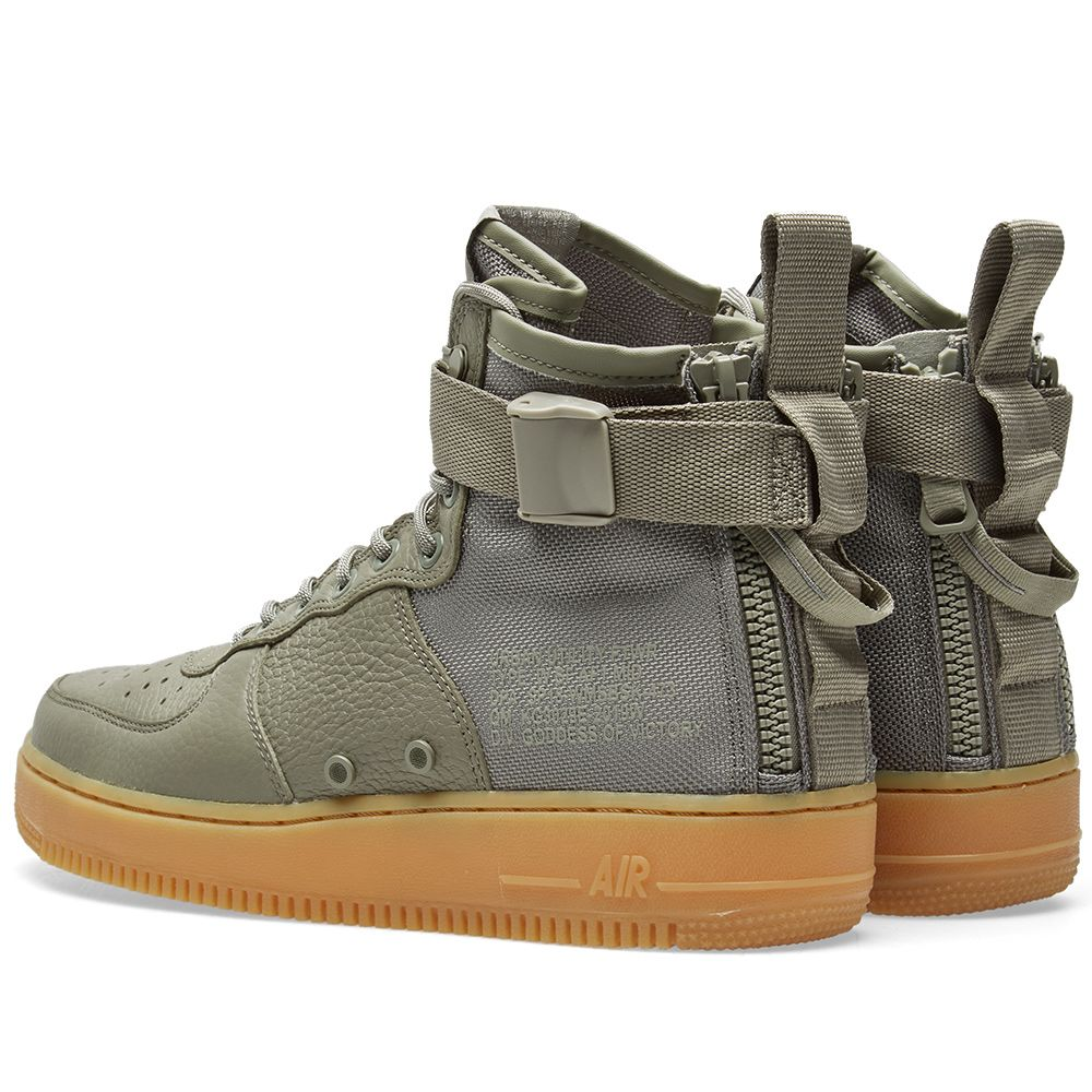 5f607469819572 Nike SF AF1 Mid W Dark Stucco   Gum Light Brown