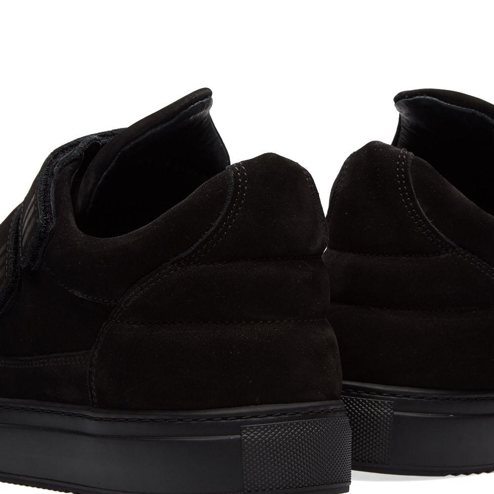 523c2e0e385 Filling Pieces Low Top Double Strap Sneaker Triple Black