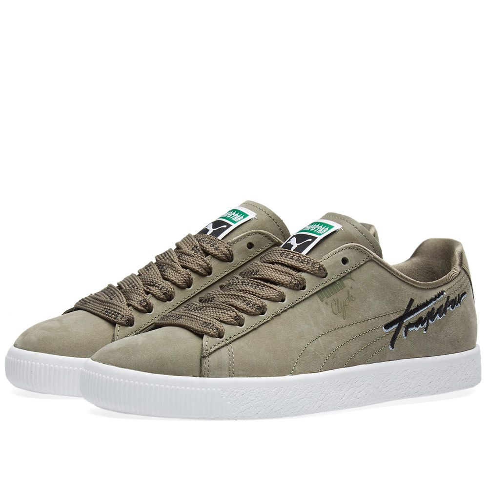 537225c3fb5a Puma x Trapstar Clyde Bold. Burnt Olive.  109  59. image