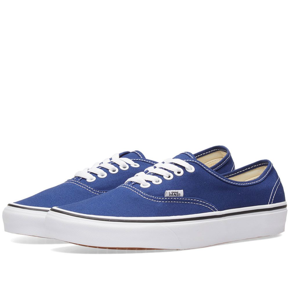 a95ddb1151e9ba Vans Authentic Estate Blue   True White