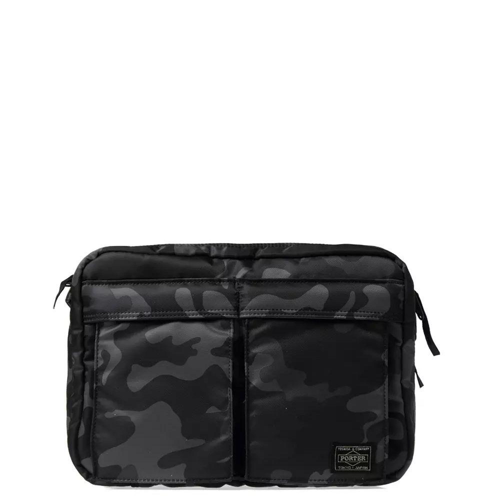 Head Porter Jungle Camo Shoulder Bag Black Camo  f75012d290977