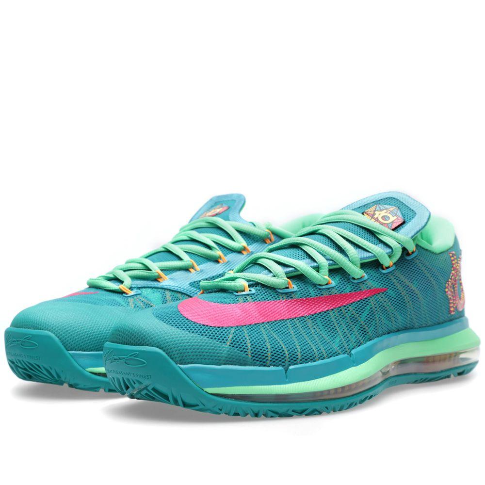 sports shoes 103d2 943b9 Nike KD VI Elite  Hero  Turbo Green   Vivid Pink   END.