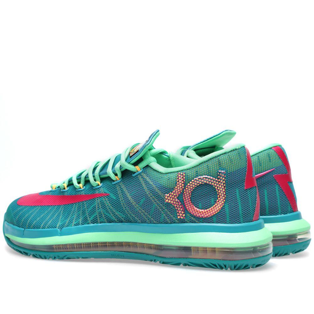 e286db129352 Nike KD VI Elite  Hero  Turbo Green   Vivid Pink