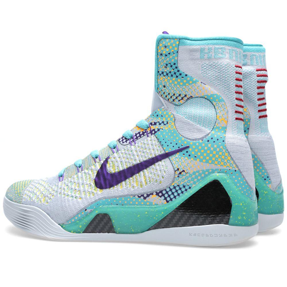 best service b13e0 e316c Nike Kobe IX Elite  Hero . Wolf Grey   Court Purple. AU 255. image