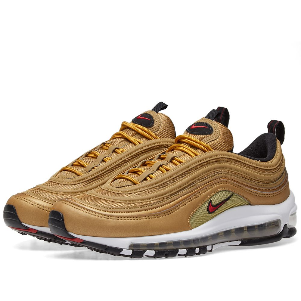 low cost c9c0a 86f72 Nike Air Max 97 OG QS Metallic Gold  Varsity Red  END.