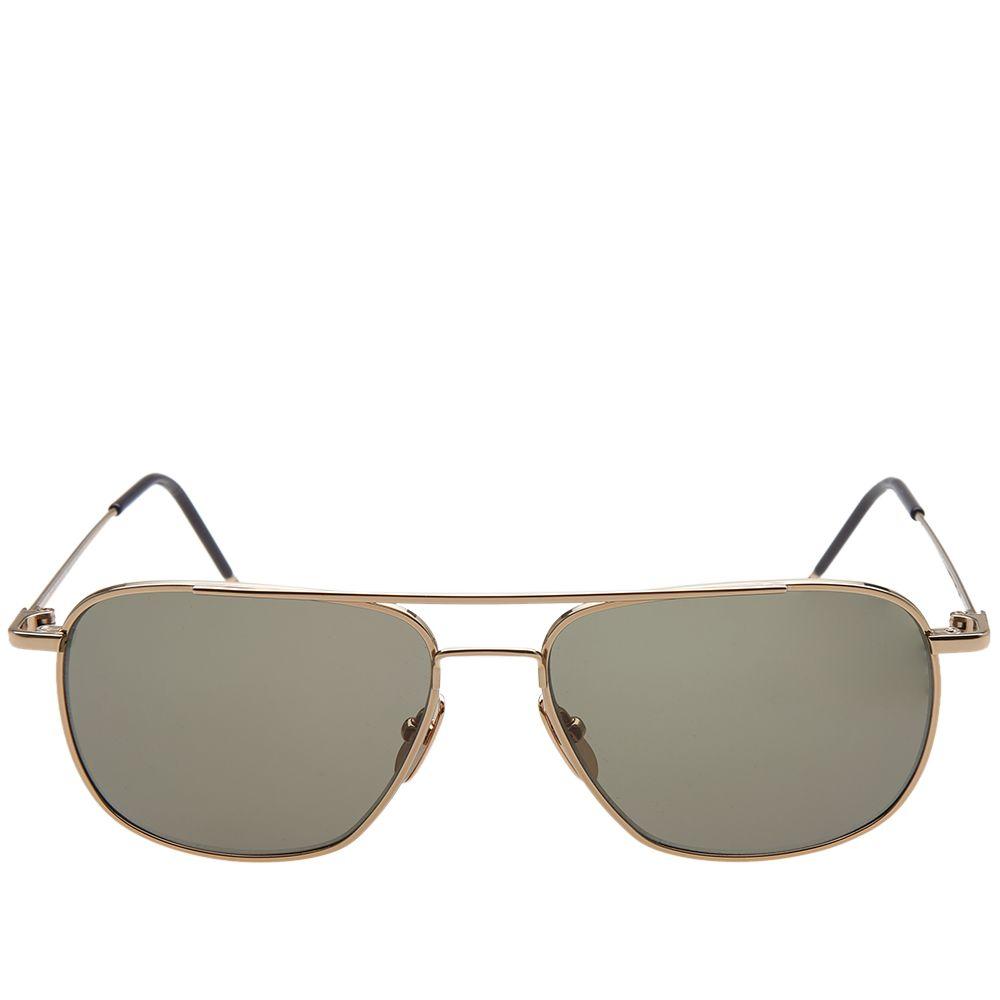 fbcf93b93b6d Thom Browne TB-103 Sunglasses 12K Gold   G15