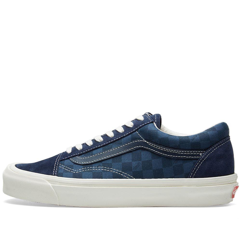 edbe8a8c6d16 Vans Vault OG Old Skool LX Checkerboard   Majolica Blue