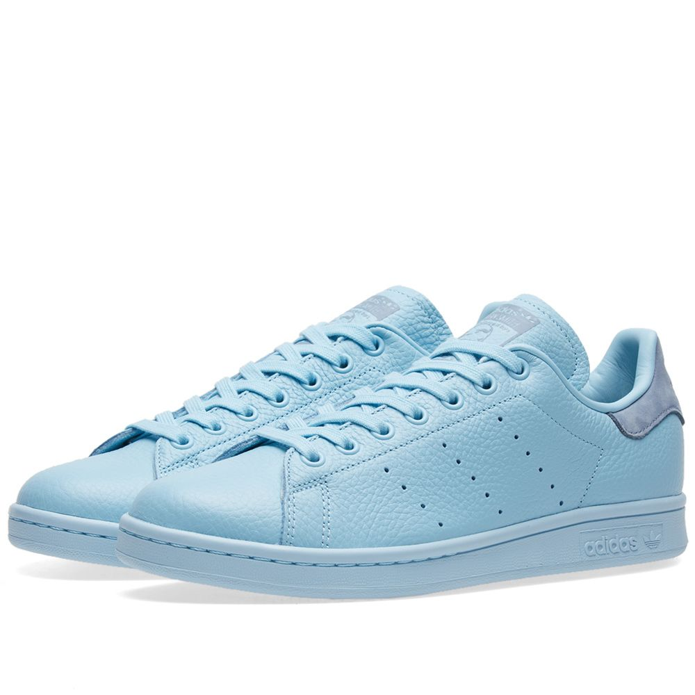 61617e97aed8d1 Adidas Stan Smith Pastel Icey Blue   Tactile Blue