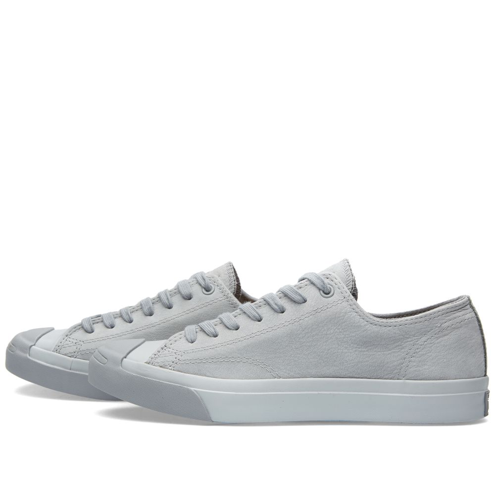 c4bed80a1479 Converse Jack Purcell Mono Nubuck Dolphin Grey
