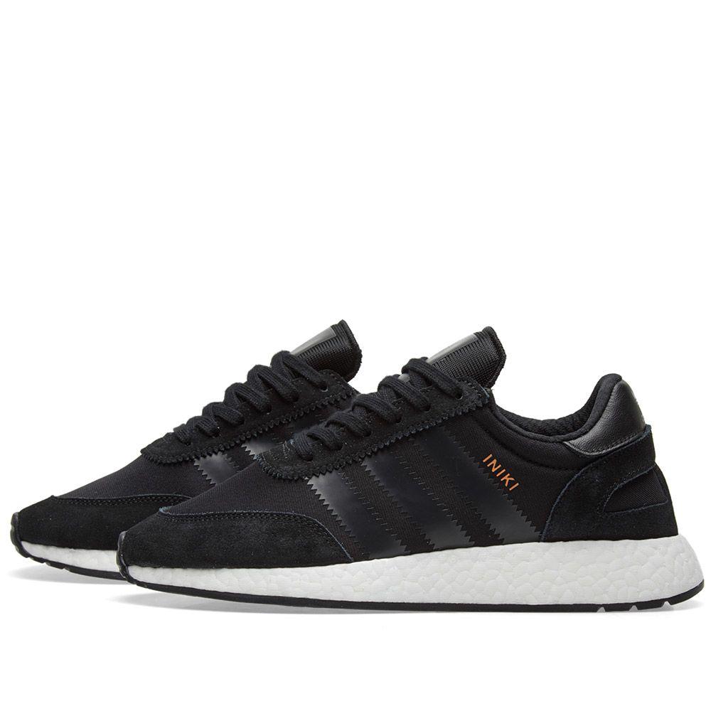 7339e6b51da2 Adidas Iniki Runner Core Black   White