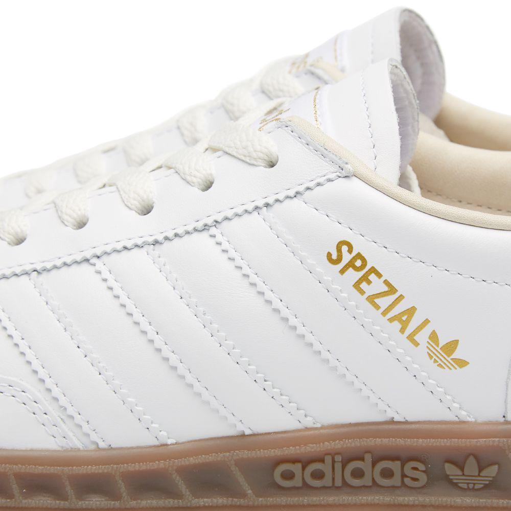 brand new 5e7f5 824c2 Adidas Spezial Hand-Burg White & Gum | END.