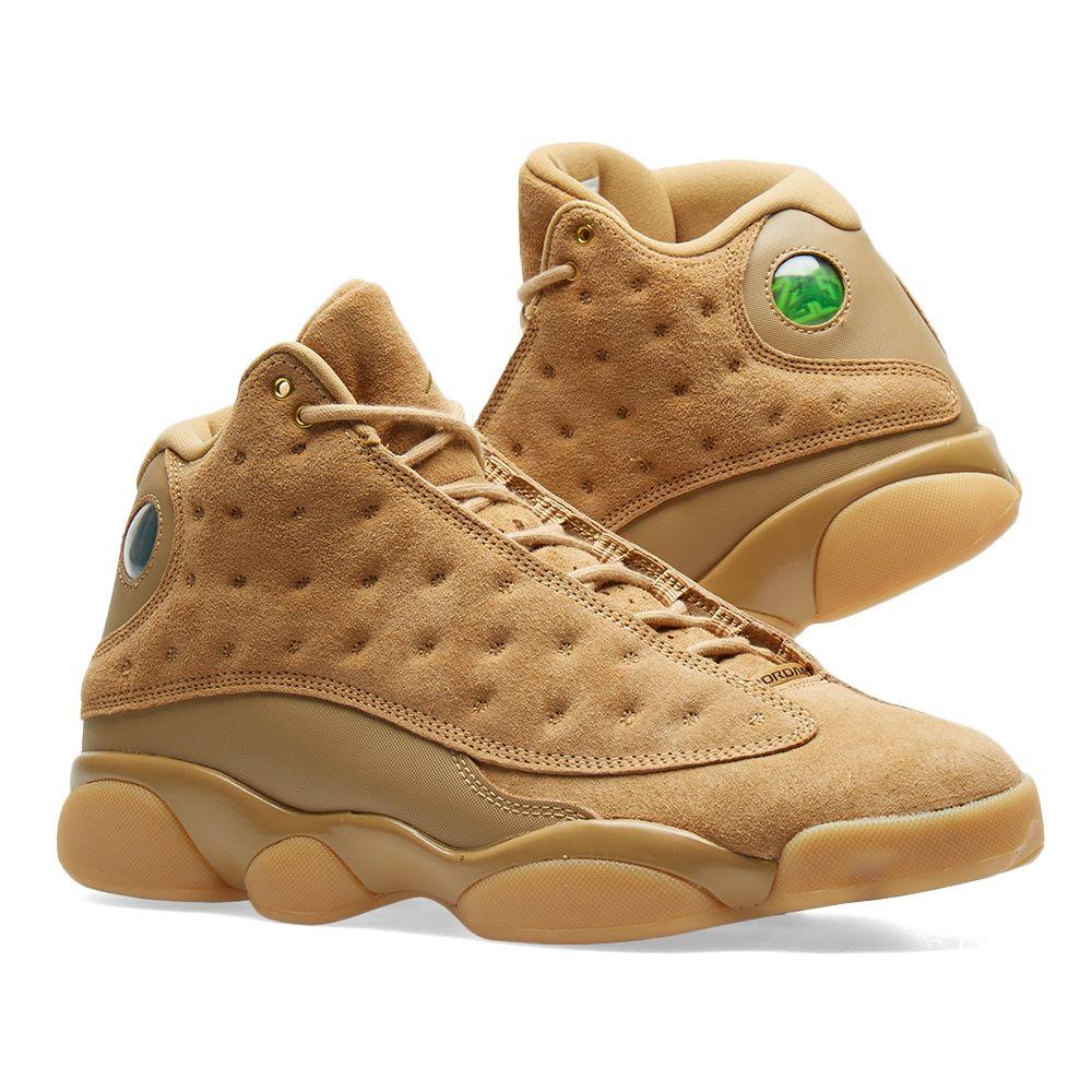b51dfcef0c61 Nike Air Jordan 13 Retro Elemental Gold   Baroque Brown