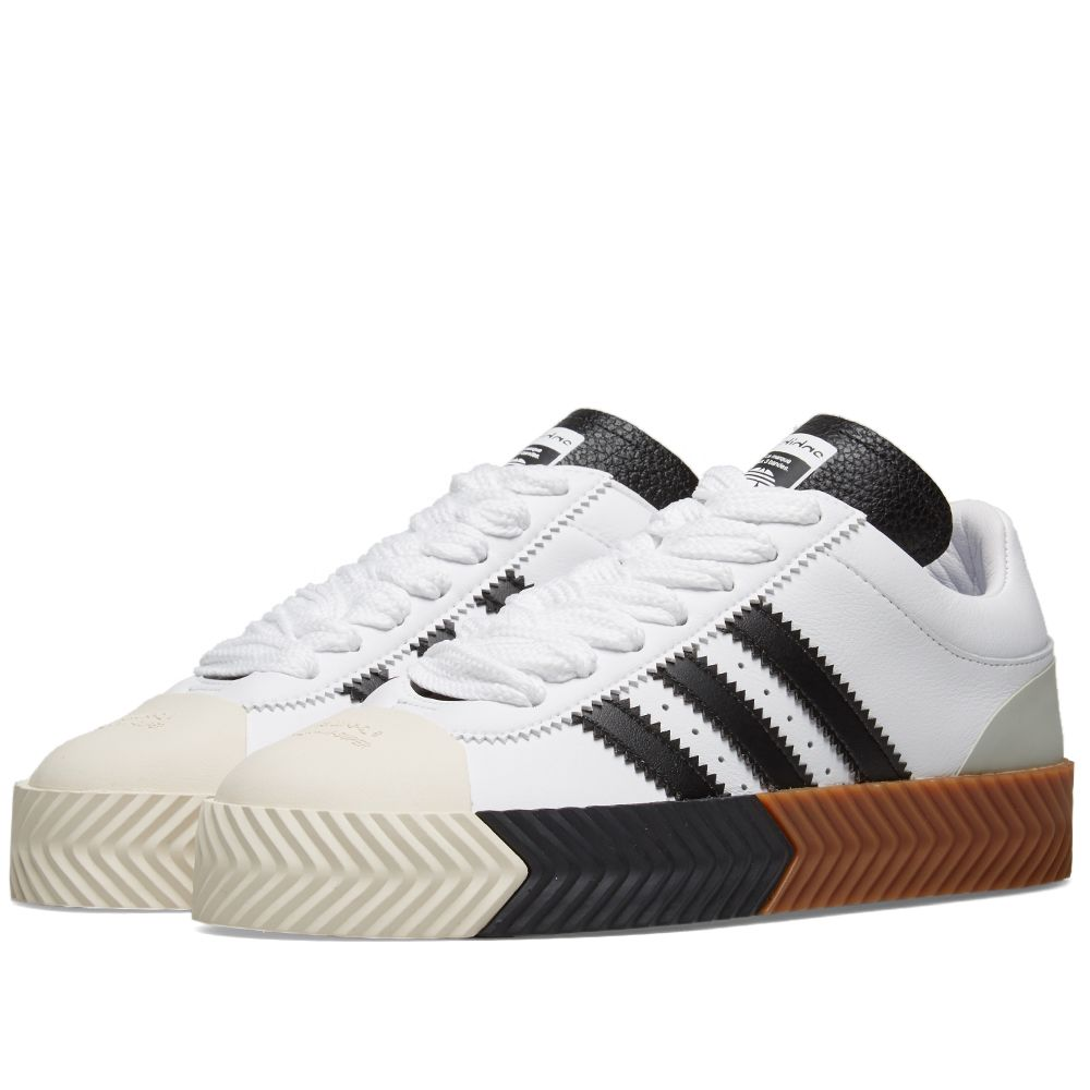 97b9b10a3a97 Adidas Originals by Alexander Wang Skate Super White   Black