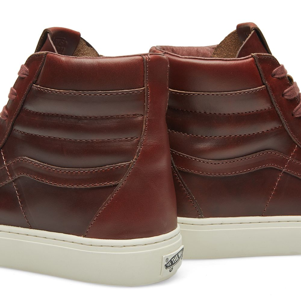 f4eb3aa79f homeVans Vault x Horween Leather Co. Sk8-Hi Cup LX. image. image. image.  image. image. image. image. image