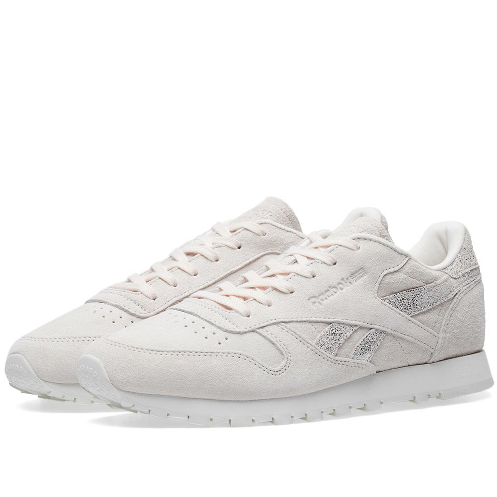 59d7540f8881d Reebok Classic Leather Shimmer W Pale Pink