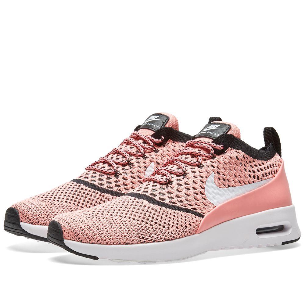 7399173eda0b Nike W Air Max Thea Flyknit Bright Melon