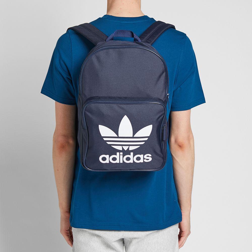 ebad8dd72b3d Adidas Trefoil Backpack Collegiate Navy