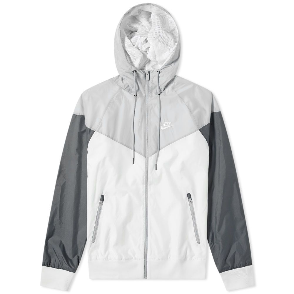 1bac3217c5 Nike Windrunner Jacket. White   Grey. HK 669. image