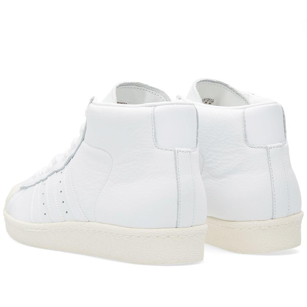 on sale f4a55 46c84 Adidas Pro Model Vintage DLX. White  Cream. 119 49