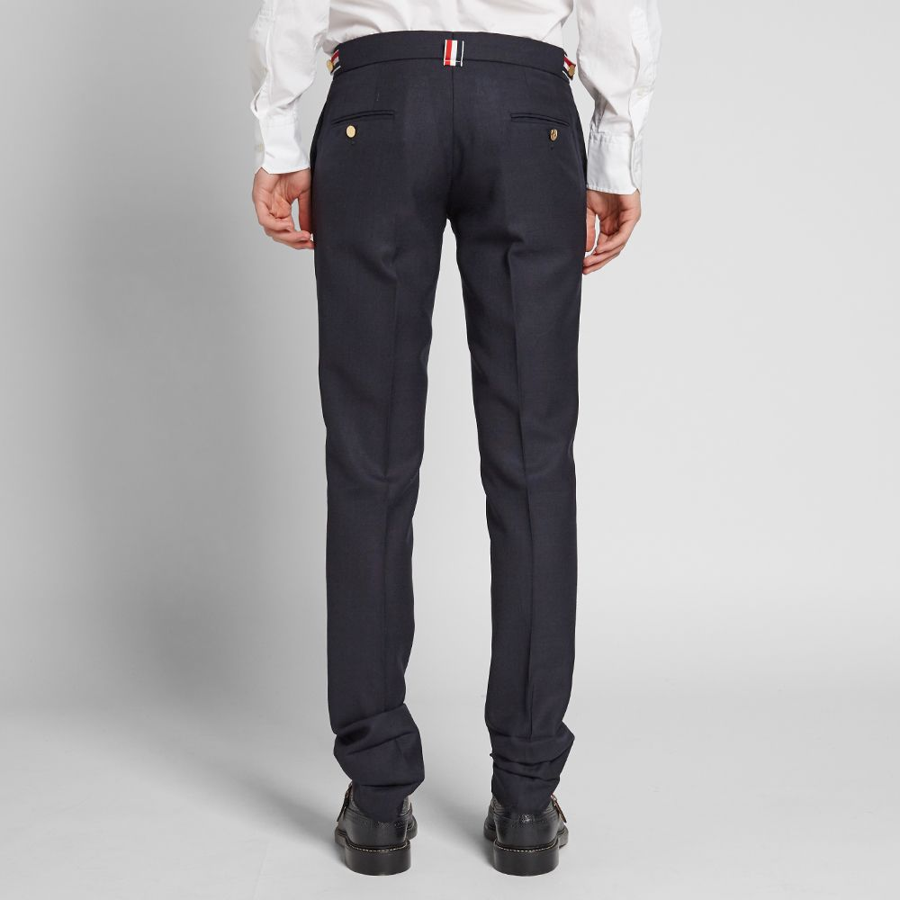 959939edbe7 Thom Browne Side Tab Slim Fit Trouser Navy