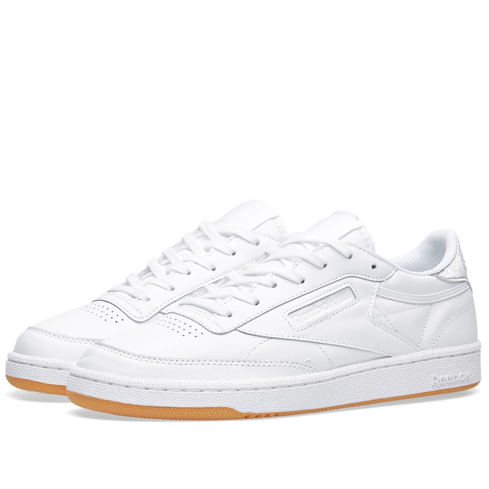 d83c69cf0a910 Reebok Women s Club C 85  Diamond  White   Gum