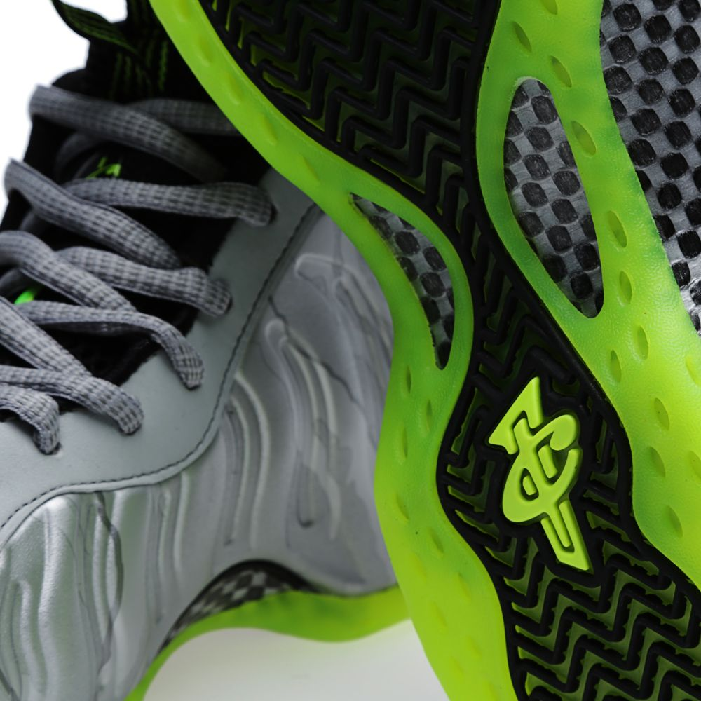 ec1e743b4c158 Nike Air Foamposite One  Silver Camo  Metallic Silver   Volt