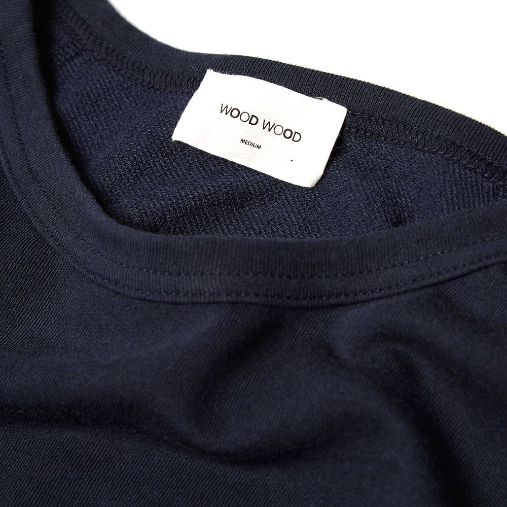 578ef51d9090 Wood Wood Salomon Longsleeve Tee Dark Navy