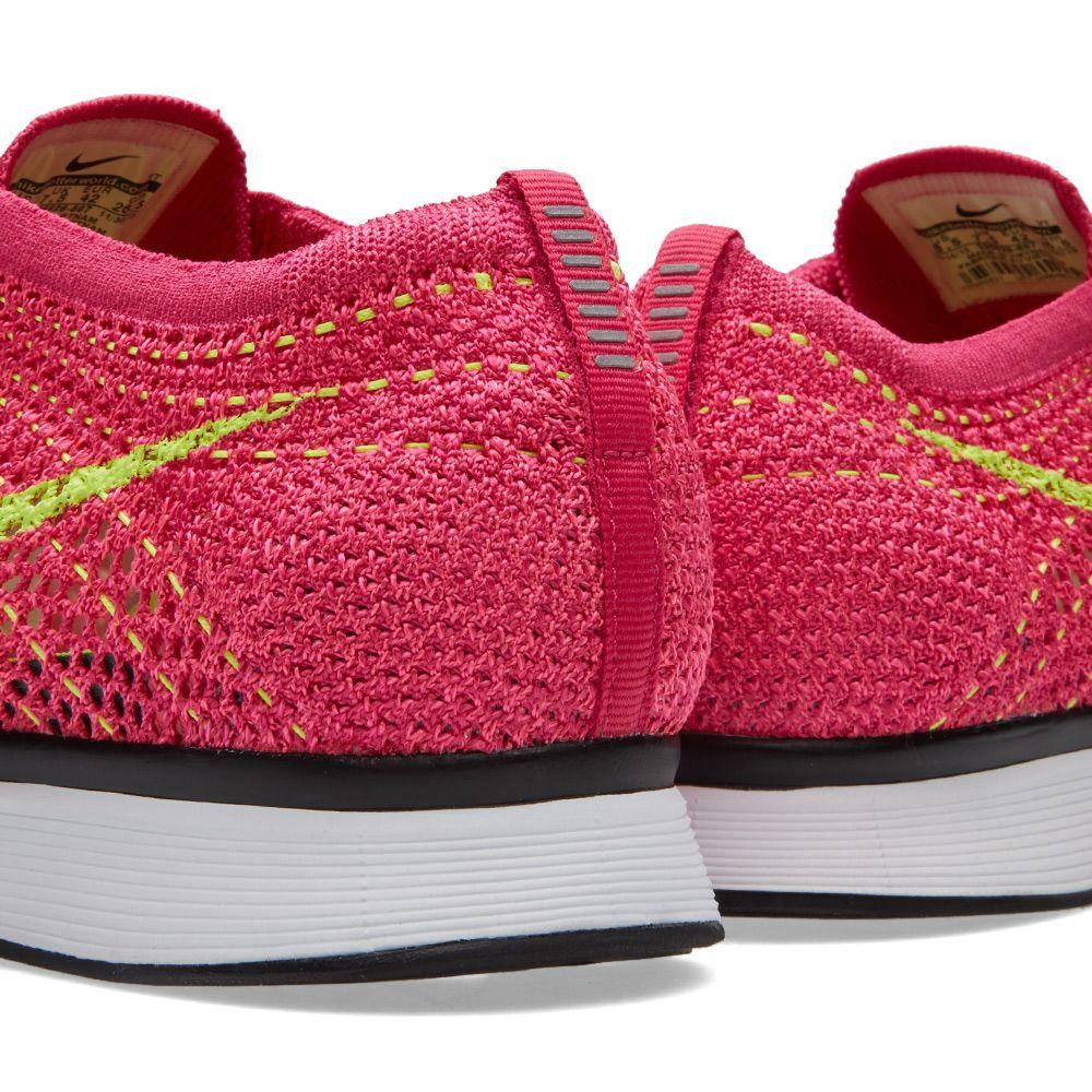 7b28d5fe1775 Nike Flyknit Racer Fireberry