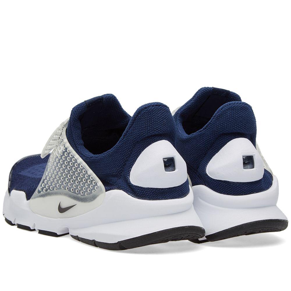 ba353235c83 Nike Sock Dart Mid Navy