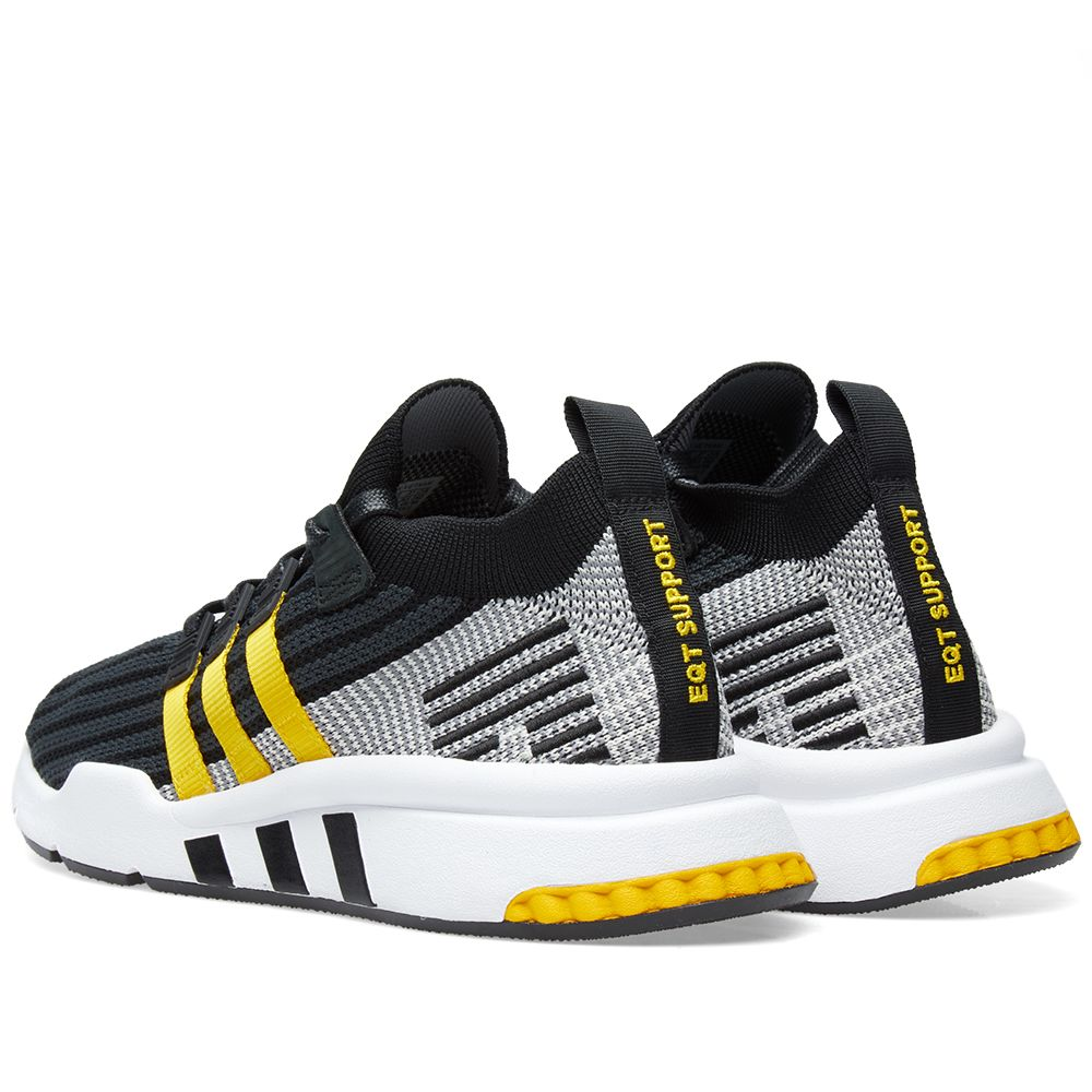 best authentic fd133 2b346 Adidas EQT Support Mid ADV PK. Black, Yellow  White