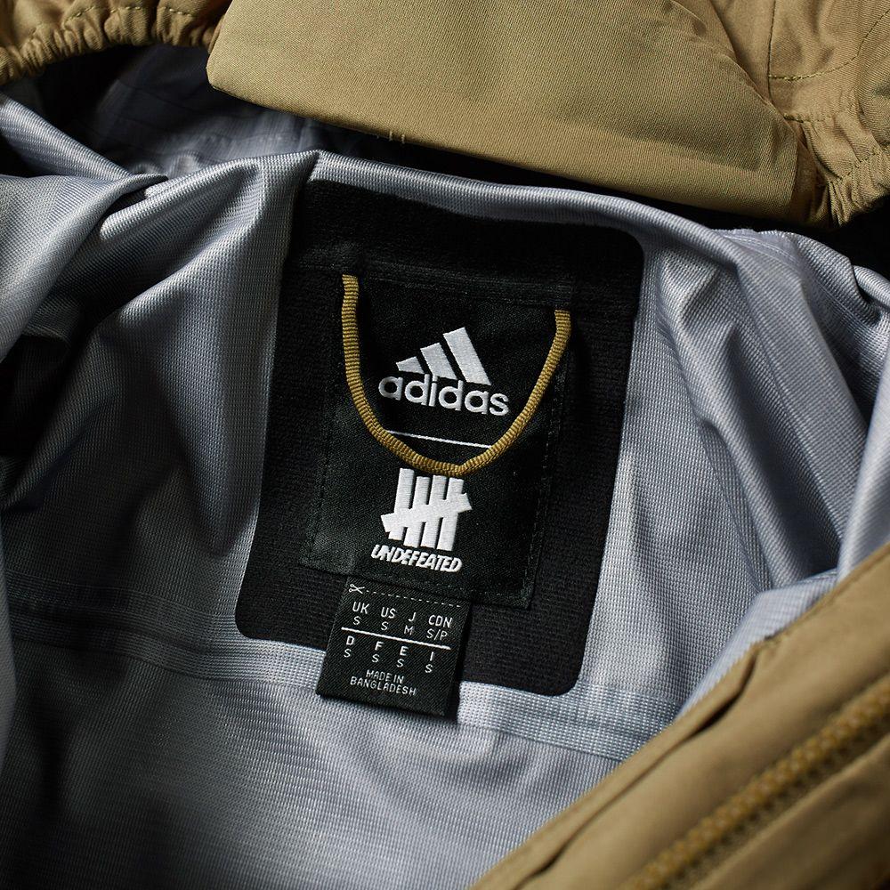 1205547a307f Adidas x Undefeated 3L GTX Jacket Tactile Khaki