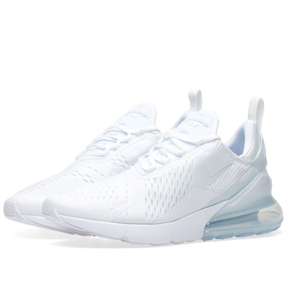 Nike Air Max 270 W Triple White  e6584d7ee6