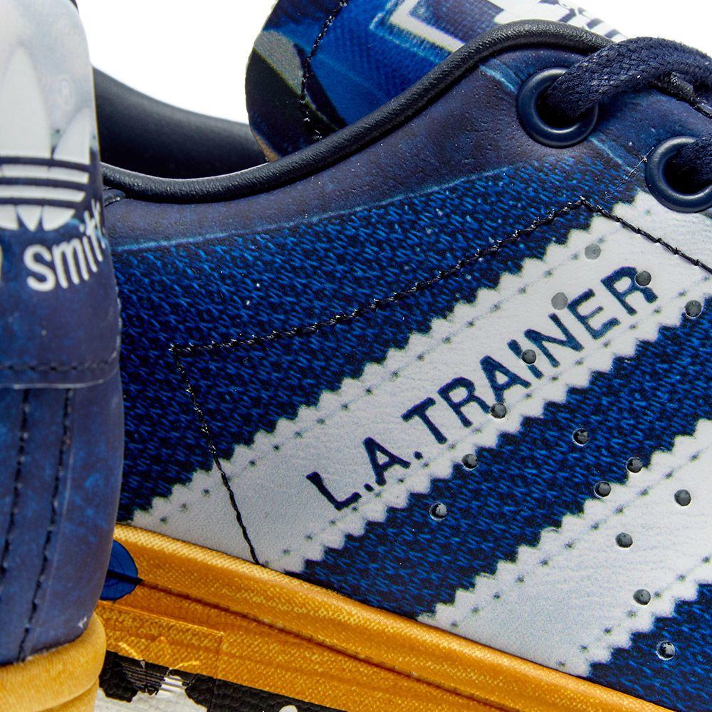 Adidas x Raf Simons L.A. Stan Legend Ink, Silver & Navy   END.