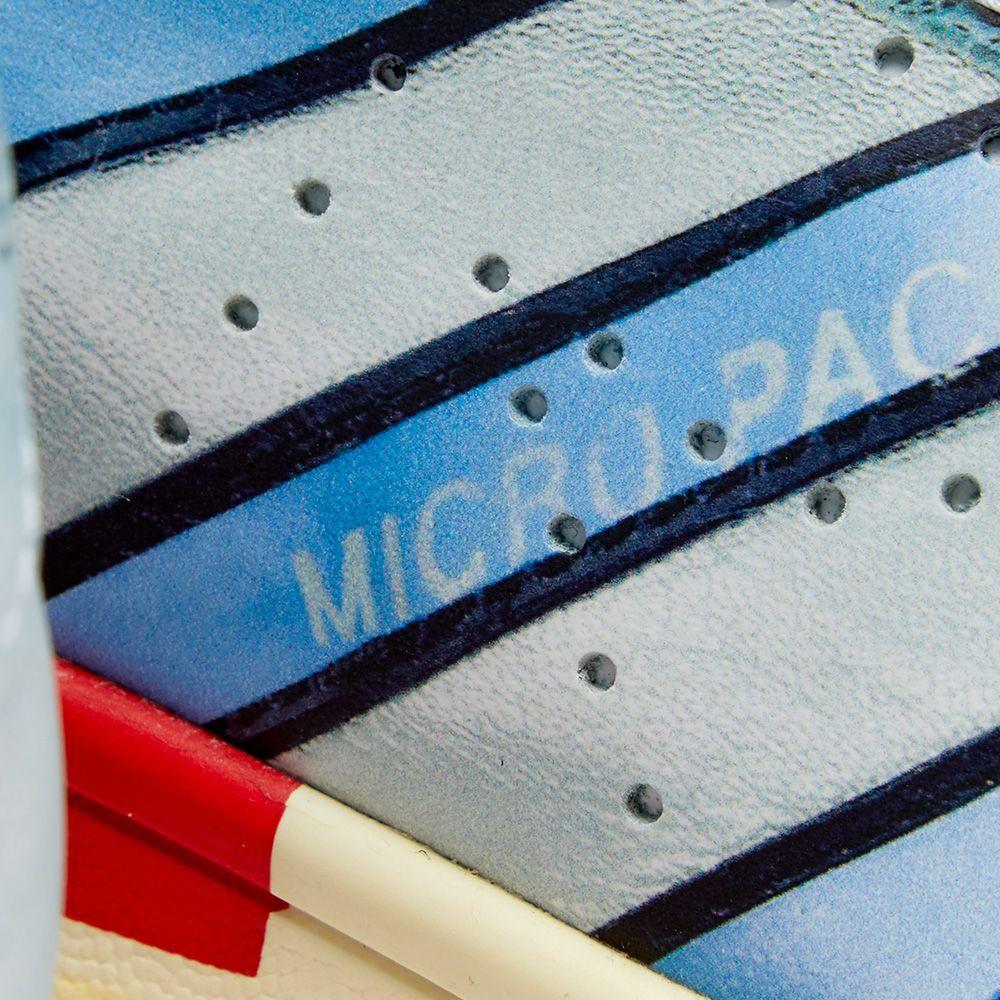 Adidas x Raf Simons Micro Stan Silver & White | END.