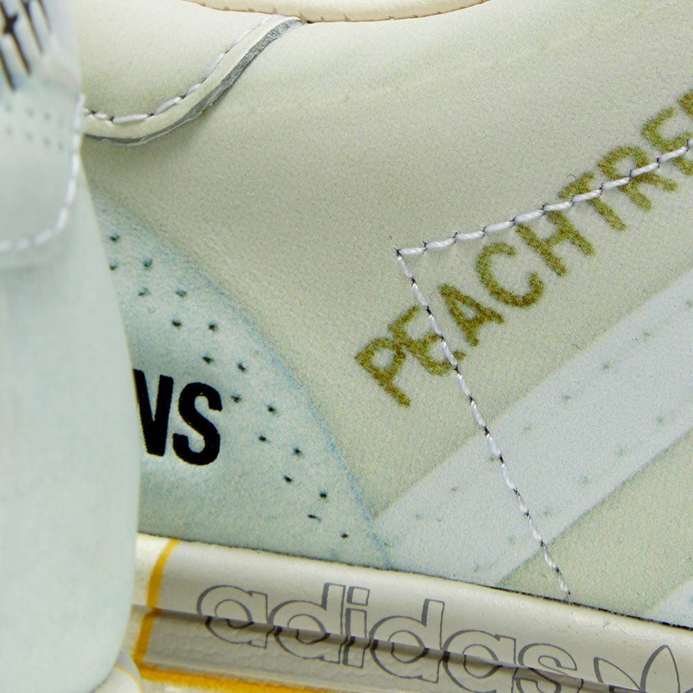 Adidas x Raf Simons Peach Stan Light Sand & White | END.