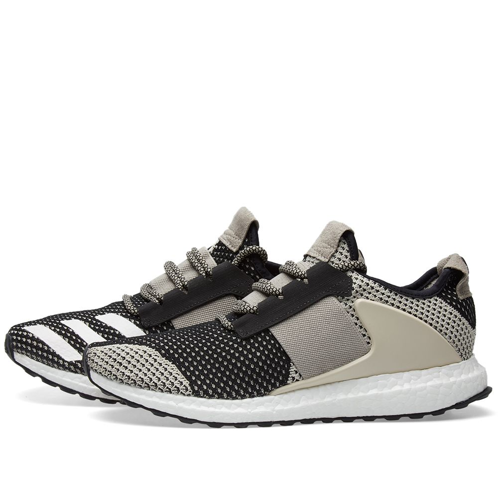 best website 1ebdc 54194 Adidas Consortium x Day One ADO Ultra Boost ZG. Clear Brown  Black
