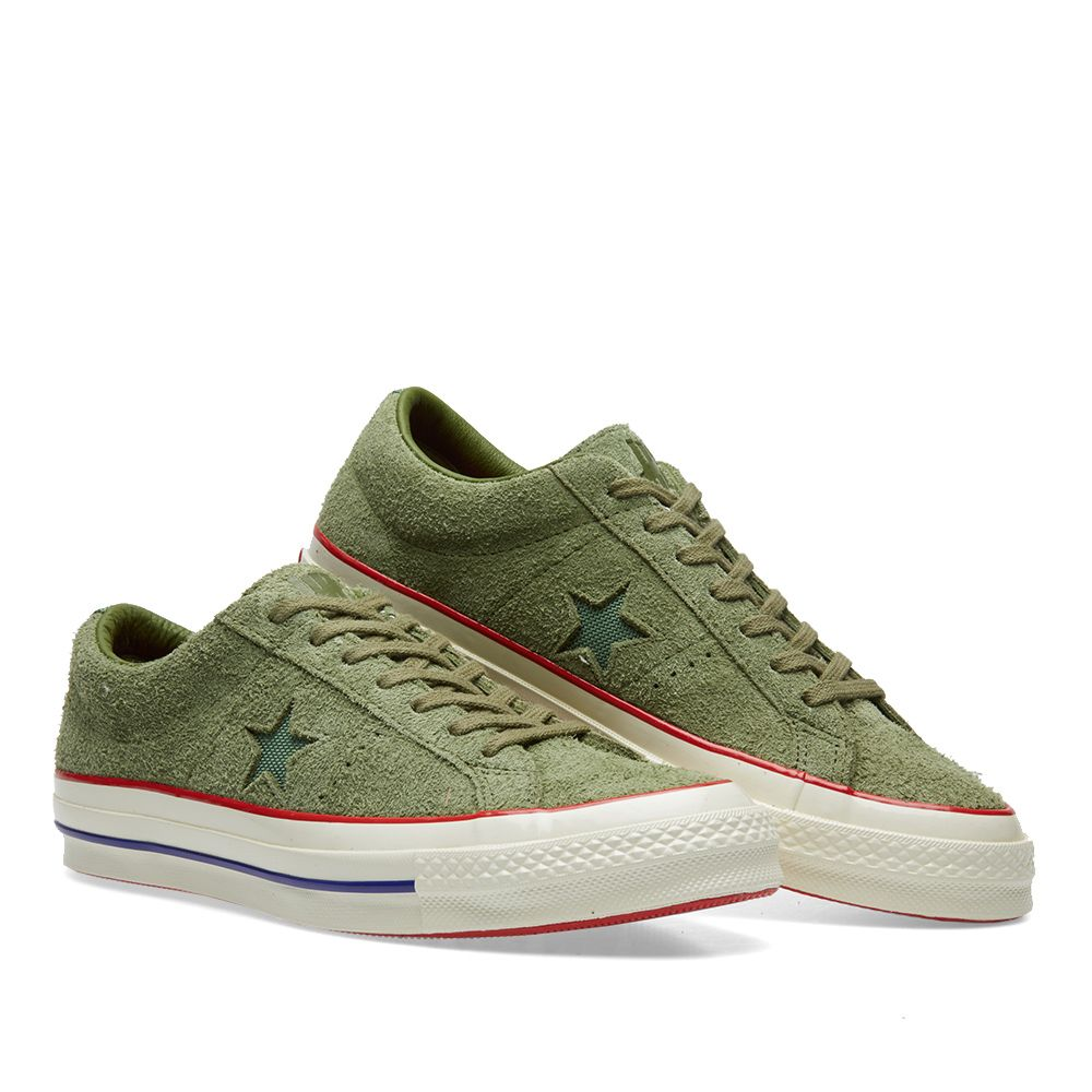 5fed590d5613 Converse x Undefeated One Star  74. Capulet Olive. DKK659. image
