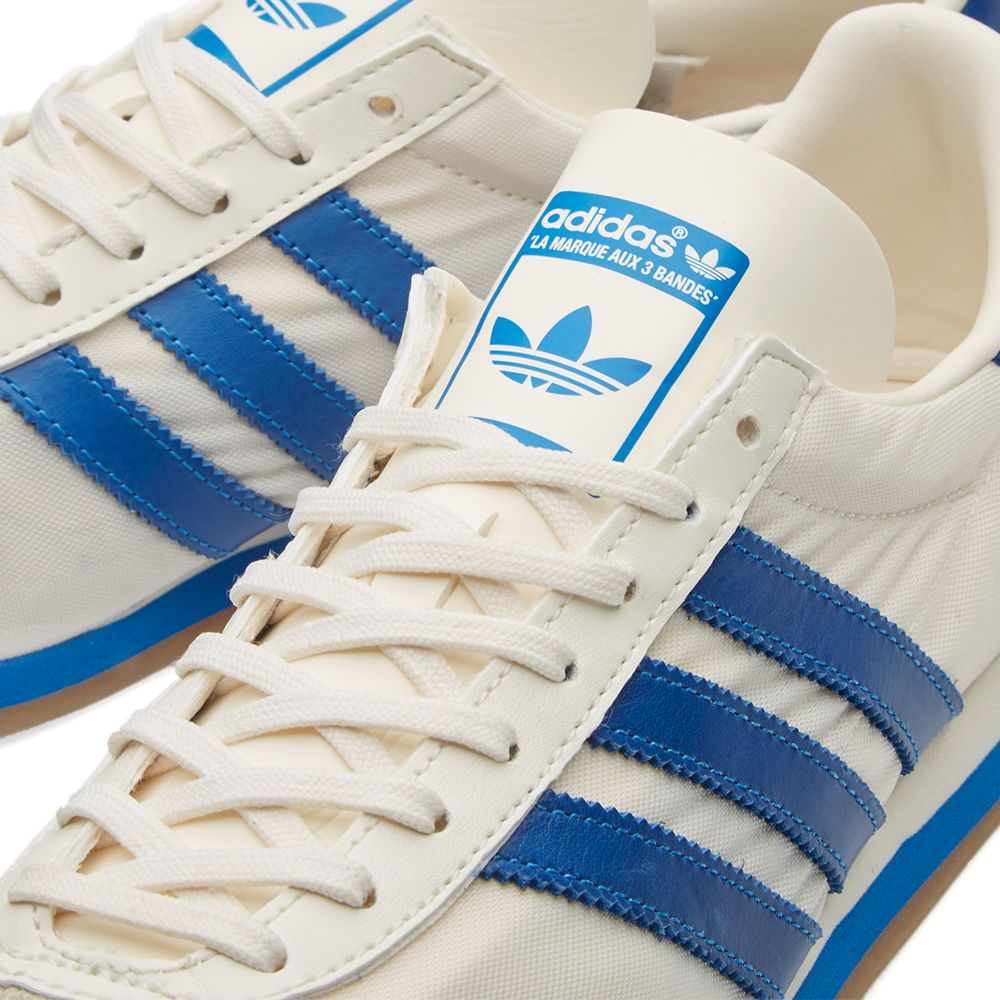 new style 24d74 c8ba1 Adidas Country OG Chalk White  Bluebird  END.