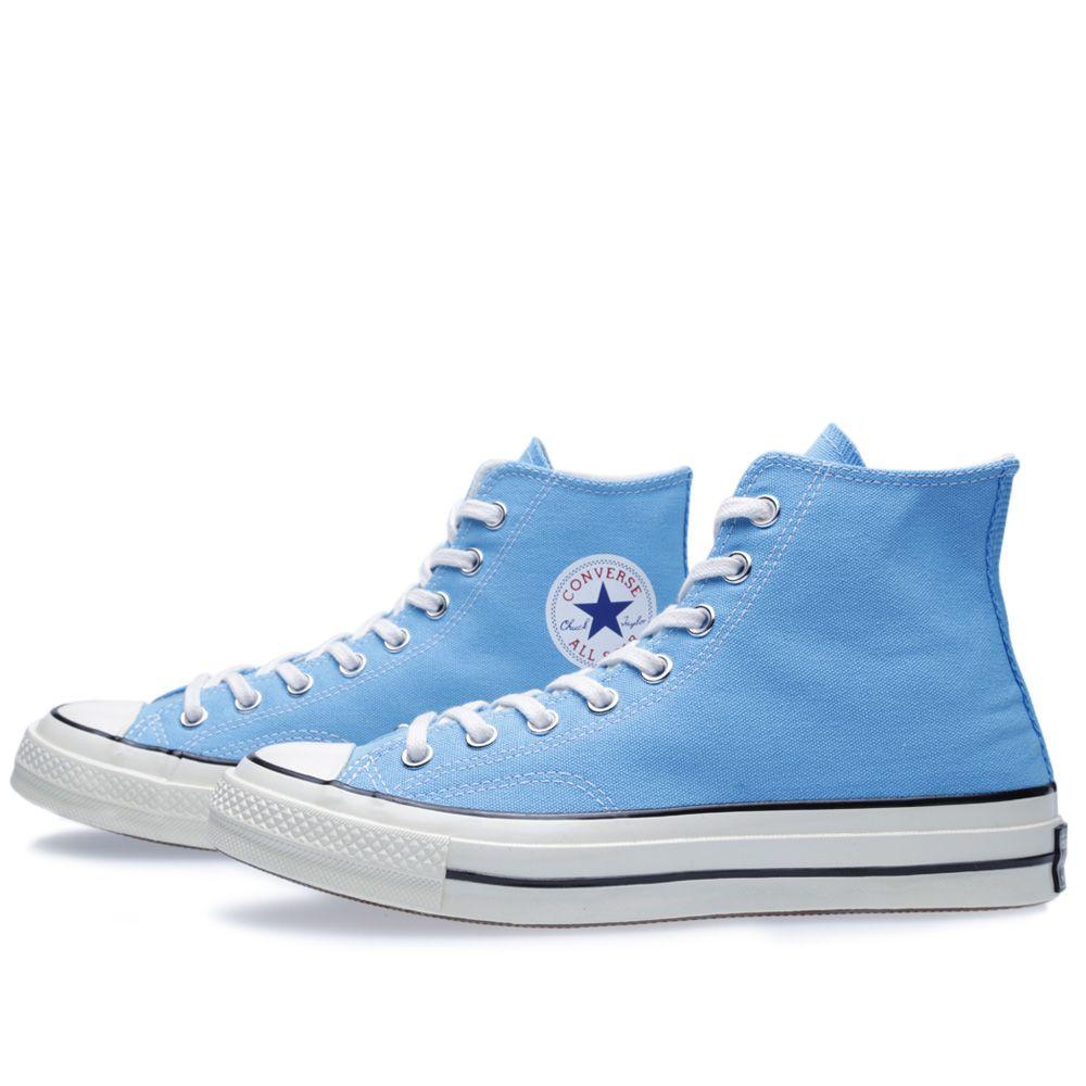 8a54ebcfa27e Converse First String Chuck Taylor 1970 Hi Heritage Blue