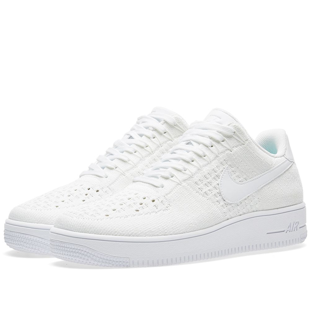 9a53b8df22d8 Nike Air Force 1 Flyknit Low White