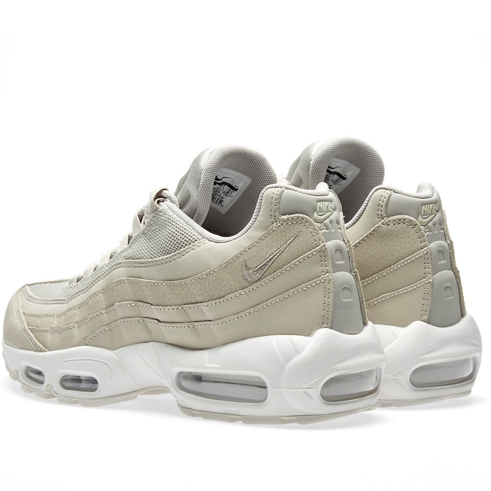 31fd39925868 Nike Air Max 95 Essential Pale Grey   Summit White